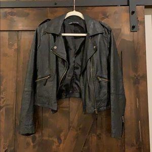 Leather jacket size XL